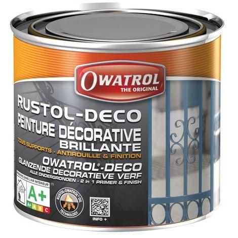 OWATROL - Anti-rouille Rustol - rouge sécurité - 0.75 L