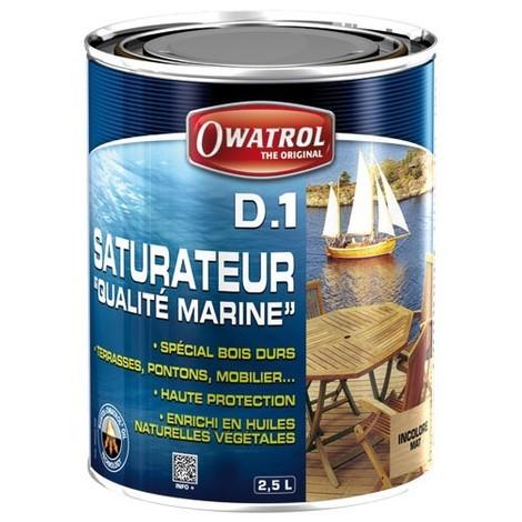OWATROL - Saturateur Deks Olje D.1 - bois exotiques - 2.5 L