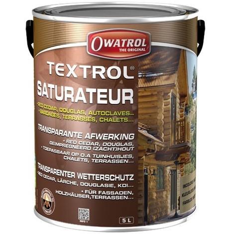 OWATROL - Saturateur Textrol 5 L - chêne rustique