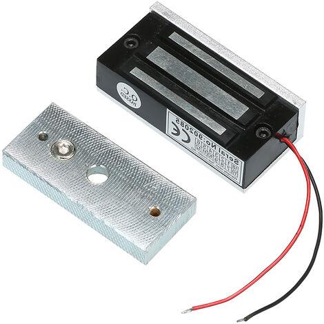 Owsoo Verrou Magnetique electrique 60Kg 132Lbs Avec Force De Maintien