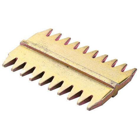 Pack of 4SCUTCH BITS P080750 OX PRO SCUTCH COMBS 50MM