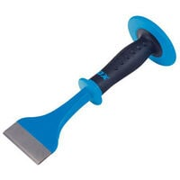 """OX P092103 Pro Electricians Flooring Chisel Bolster With Hand Guard 3"""" X 11"""""""