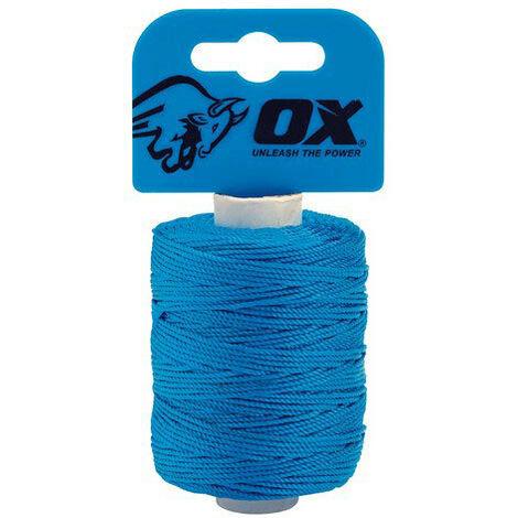 OX P103510 Pro Nylon Brick Line Cyan 100 Metre 328ft
