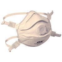 OX S241401 FFP3V Moulded Cup Mask Respirator Valved 5 Pack