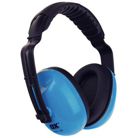 OX S241901 Premium Ear Defenders With Padded Headband SNR 27db