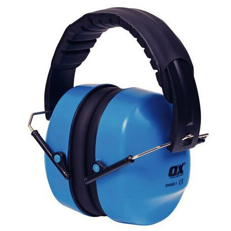 OX S248930 Folding Collapsible Ear Defender