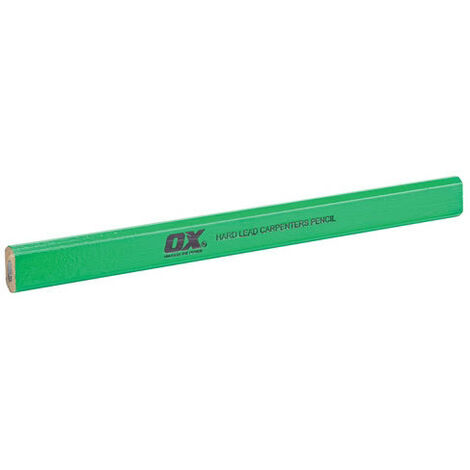Ox T023010 Trade Hard Lead Carpenters Pencils 10 Pack