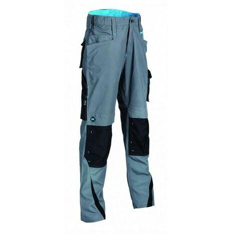 "OX W551134 Ripstop Work Trousers Graphite 34"" Regular"