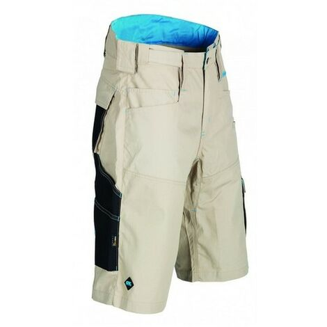 "OX W551236 Ripstop Work Shorts Beige 36"""