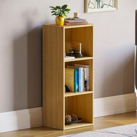 Oxford 3 Tier Cube Bookcase, Oak