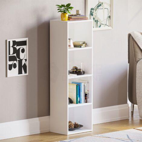 Oxford 4 Tier Cube Bookcase, White