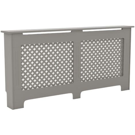 Oxford Radiator Cover Grey, Extra Large