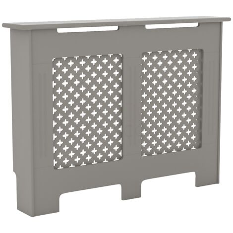 Oxford Radiator Cover Grey, Medium
