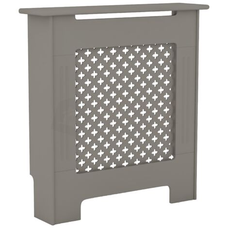 Oxford Radiator Cover Grey, Small