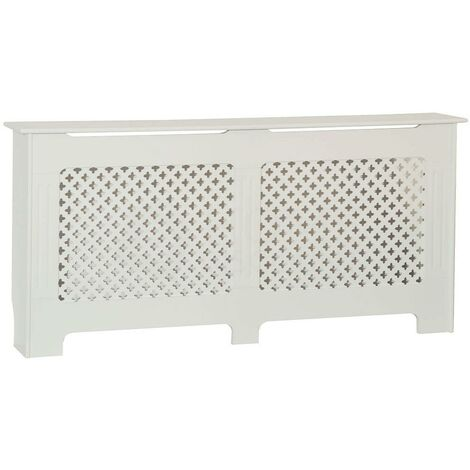 Oxford Radiator Cover White, Extra Large