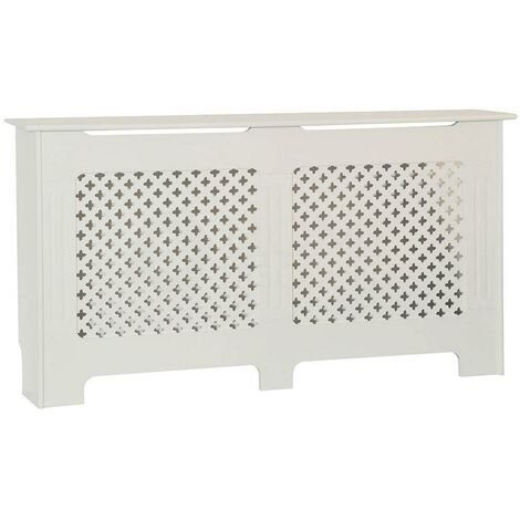 Oxford Radiator Cover White, Large