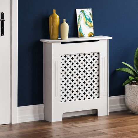 Oxford Radiator Cover White, Small