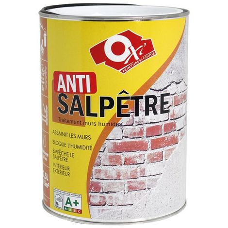 OXI - Anti-salpêtre incolore - 2.5 L