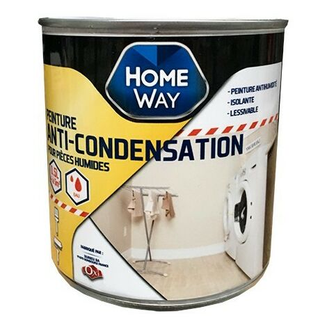 OXI Home Way Peinture Anti-condensation 0,5 L - Blanc