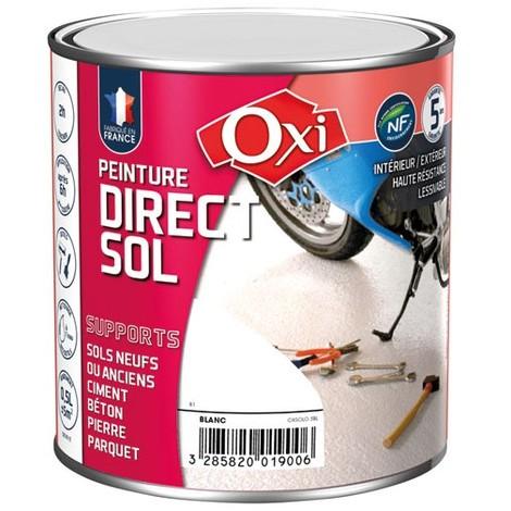 OXI - Peinture direct sol satin 0.5 L - gris clair