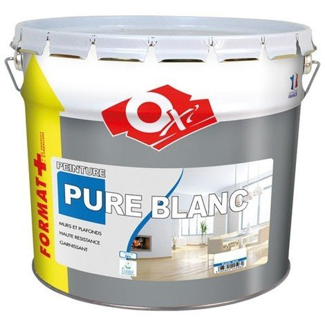 OXI - Peinture monocouche mat - 10 L - blanc