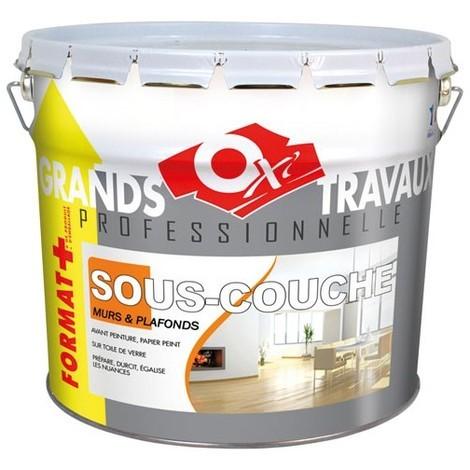 OXI - Peinture sous-couche professionnel - 10 L - blanc