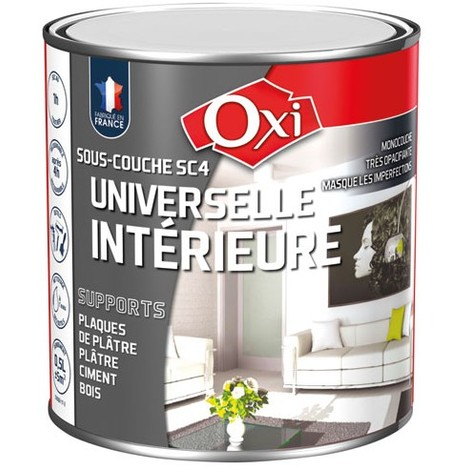 OXI - Peinture sous-couche universelle intérieur - 500 mL