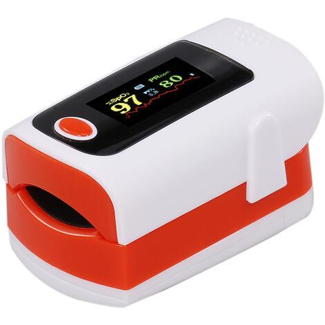 oxigeno Tester en la sangre portatil con pantalla a color de LED (suministrado sin bateria)