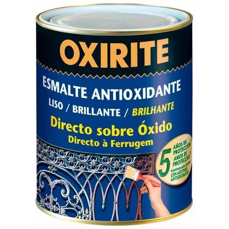 Oxirite liso brillante gris plata 0.250l EDM 25506