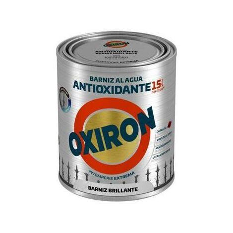 OXIRON AL AGUA BARNIZ ANTIOXIDO BRILLO 750ML.