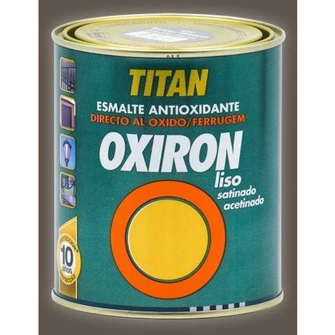 Oxiron Lisse Satin Effet Forge
