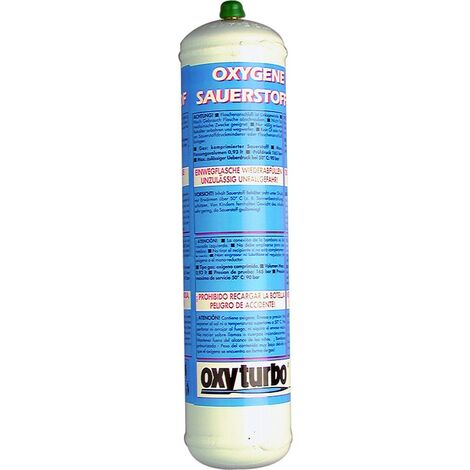 Oxy - Bouteille D Oxygène 110 Bar 1Lt Attaque M12X1 Rh-It Turbo Set… - S05658