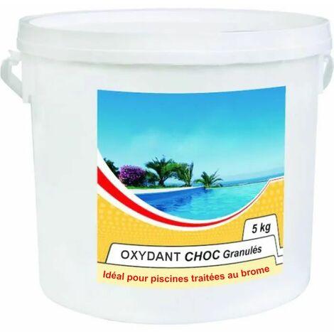 oxydant choc granulés 5kg spécial brome - oxydant choc - nmp