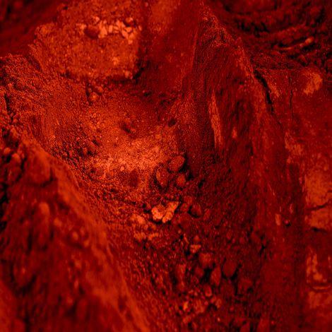 Oxyde de Fer Rouge 30 I: Pigment pour béton et chaux.