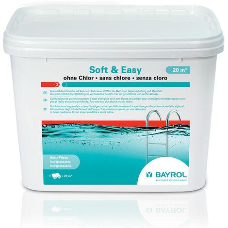 Oxygène actif en sachets Soft and Easy pour 20 m³ - Bayrol