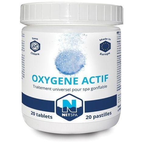 Oxygène actif Netspa - 20 pastilles de 20 g de Netspa - Produits chimiques