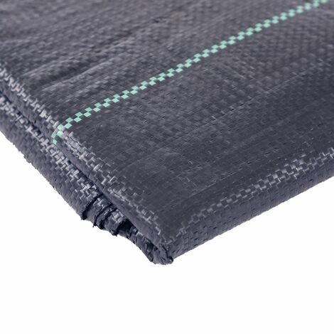 Oypla 1m x 10m Heavy Duty Weed Control Ground Cover Membrane Sheet