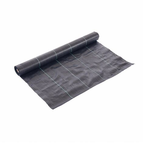 Oypla 1m x 50m Heavy Duty Weed Control Ground Cover Membrane Sheet
