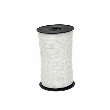 Oypla 200m x 20mm Electric Fence Fencing Poly Tape Polytape