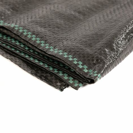 Oypla 2m x 5m Heavy Duty Weed Control Ground Cover Membrane Sheet