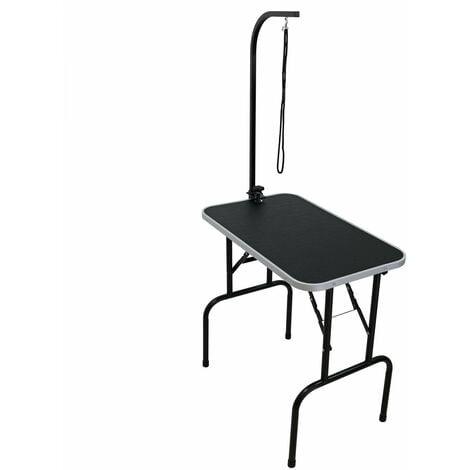 "main image of ""Oypla 30"" Heavy Duty Folding Dog Grooming Table Adjustable Portable"""