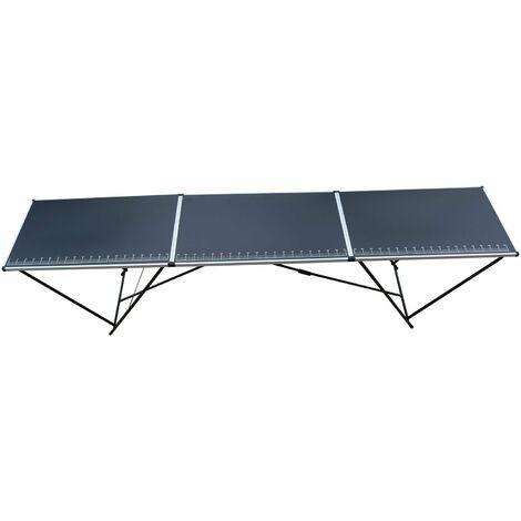 "main image of ""Oypla 3m Aluminium Folding Wallpaper Pasting Decorating Table"""