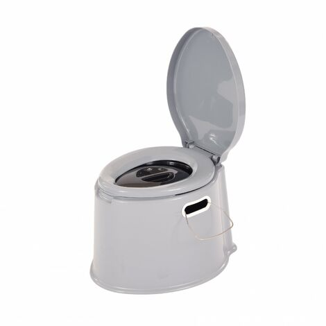 Oypla 5L Portable Compact Camping Toilet Potty with Removable Bucket