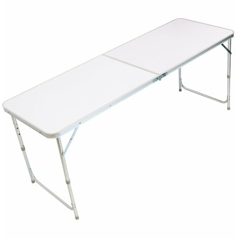 Oypla 6ft Folding Outdoor Camping Picnic Market Kitchen Work Top Table