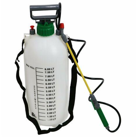 Oypla 8L 8 Litre Pump Action Pressure Crop Garden Weed Sprayer