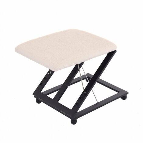 "main image of ""Oypla Adjustable Folding Cushion Padded Footstool Foot Leg Rest"""