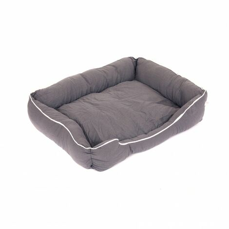 Oypla Deluxe Plush Soft Moisture Proof Large Sized Dog Bed - 75x60cm