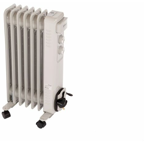 Oypla Electrical 1500W 7 Fin Portable Oil Filled Radiator Electric Heater