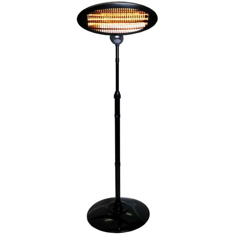 """main image of """"Oypla Electrical 2KW Quartz Free Standing Outdoor Electric Garden Patio Heater"""""""