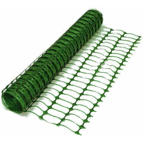 Oypla Heavy Duty Green Safety Barrier Mesh Fencing 1mtr x 25mtr